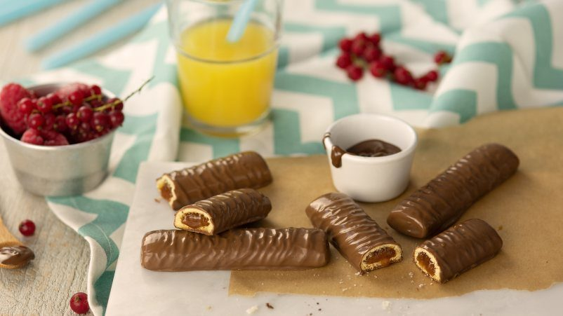 SCHAR Batoniņi ar karameli un šokolādi bez glutēna CHOCOLIX