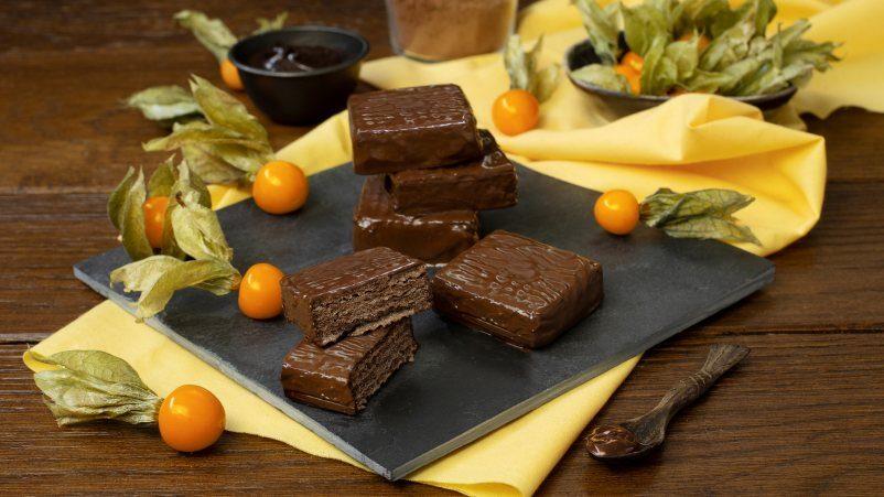 SCHAR Vafeles ar kakao un šokolādi bez glutēna QUADRITOS
