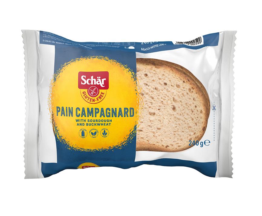 SCHAR Saldskābmaize bez glutēna PAIN CAMPAGNARD